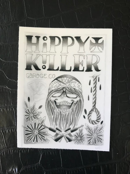 Hippy Killer 2 Sticker Pack