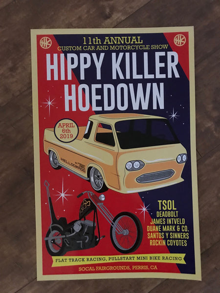 Hippy Killer Hoedown 11 Poster