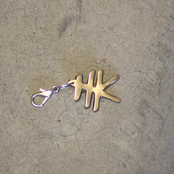 HK Key Fob / Cast Brass Polished