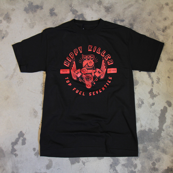 Hippy Killer Top Fuel Engine Tee