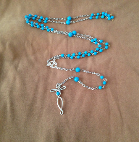 Turquoise Hand-Crafted Rosary