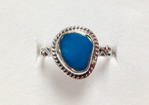 Arizona Sleeping Beauty Turquoise Ring