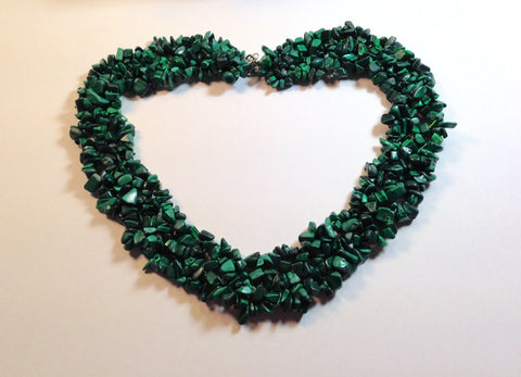 "Malachite 18"" Necklace"