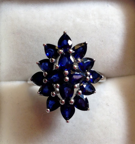 Madagascan Blue Sapphire Ring