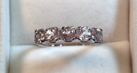 Cullinan Topaz Sterling Silver Ring