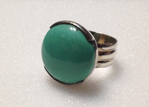 Tibetan Turquoise Sterling Silver Ring