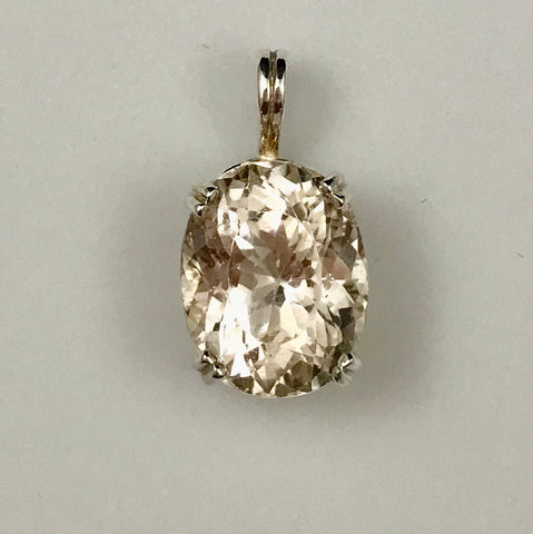Champion Topaz Sterling Silver Pendant