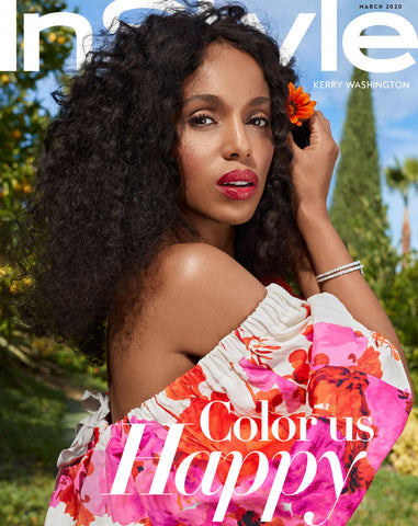 Kerry Washington Instyle Magazine cover, Beck Jewels