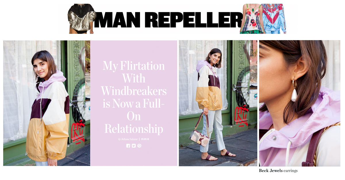 Man Repeller-Juliana Salazar wears Arcilla Hoops Beck Jewels