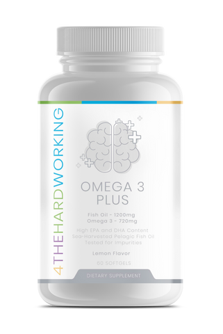 Omega 3 Plus Fish Oil - 4thehardworking supplements