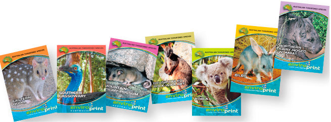 EnviroPrint Australia Collector Cards