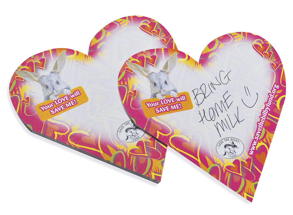 Bilby Love Note Pad