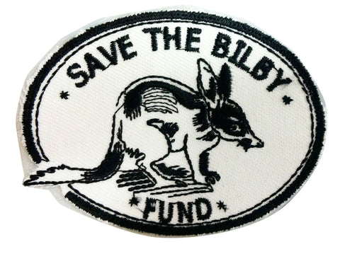 Bilby Iron On Embroidery Logo Patch