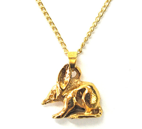 Bilby Necklace - Gold