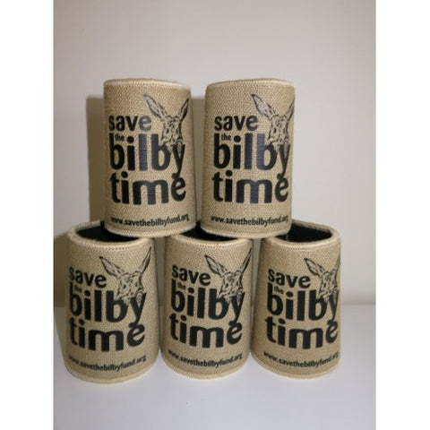 Bilby - Hessian Stubby Holder