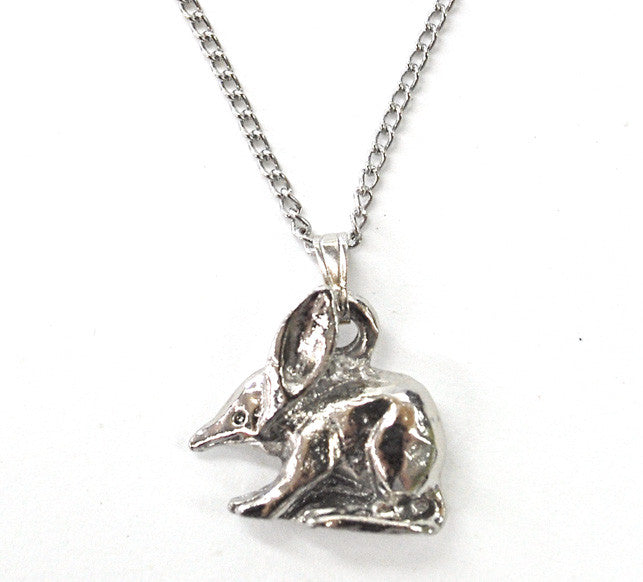 Bilby Necklace - Silver