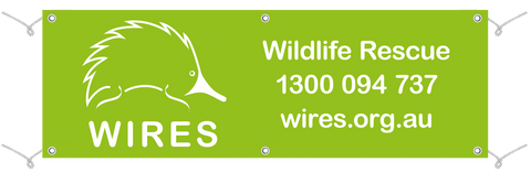 WIRE0019 - WIRES Outdoor Vinyl Banner