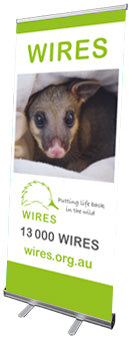 WIRE0014 - WIRES Pull Up Banner - Possum