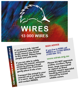 WIRES Rescue Cards