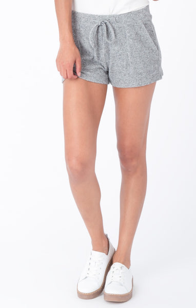 Z Supply: Striped Brushed Rib Shorts