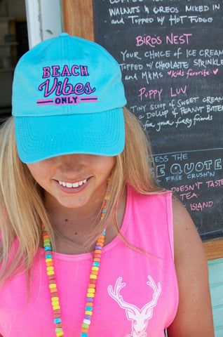Jadelynn Brooke Beach Vibes Only Hat - Charley's Boutique Bradenton