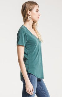 Z Supply: The Lux Modal Deep V-Neck Tee