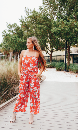 Coral Multi Jumpsuit