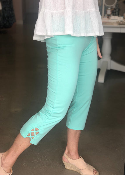 Bestselling Fitted Capri Pants