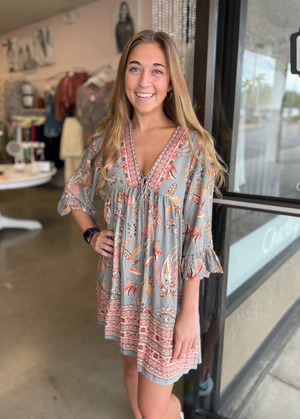 Sunshine & Boho Dress!
