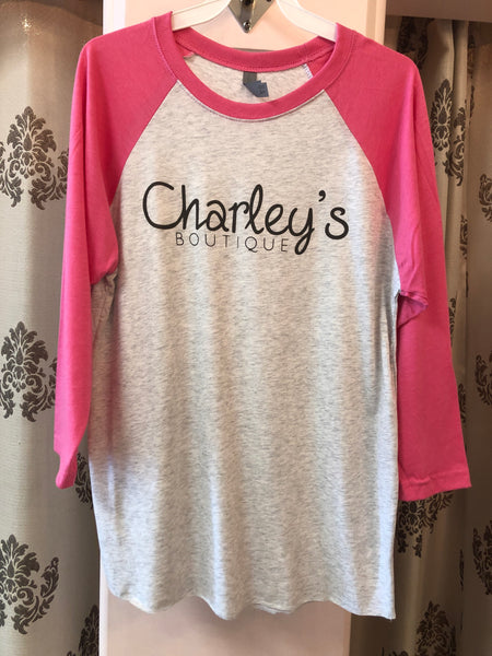 Charley's Boutique Baseball Tee