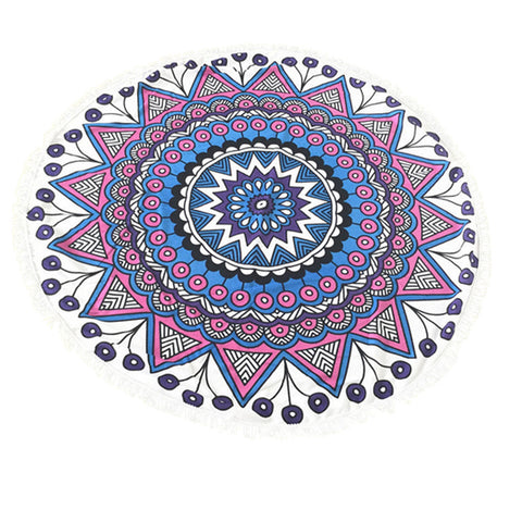 Round Beach Blanket Dream