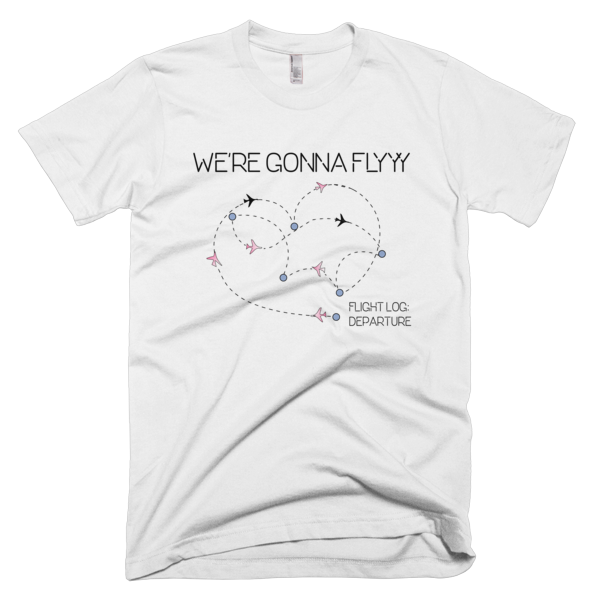 GOT7 -WE'RE GONNA FLY TSHIRT [product_color]- THINKMERMAID