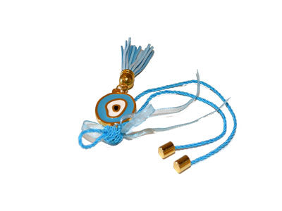 Evil Eye Golden Enamel Key Chains