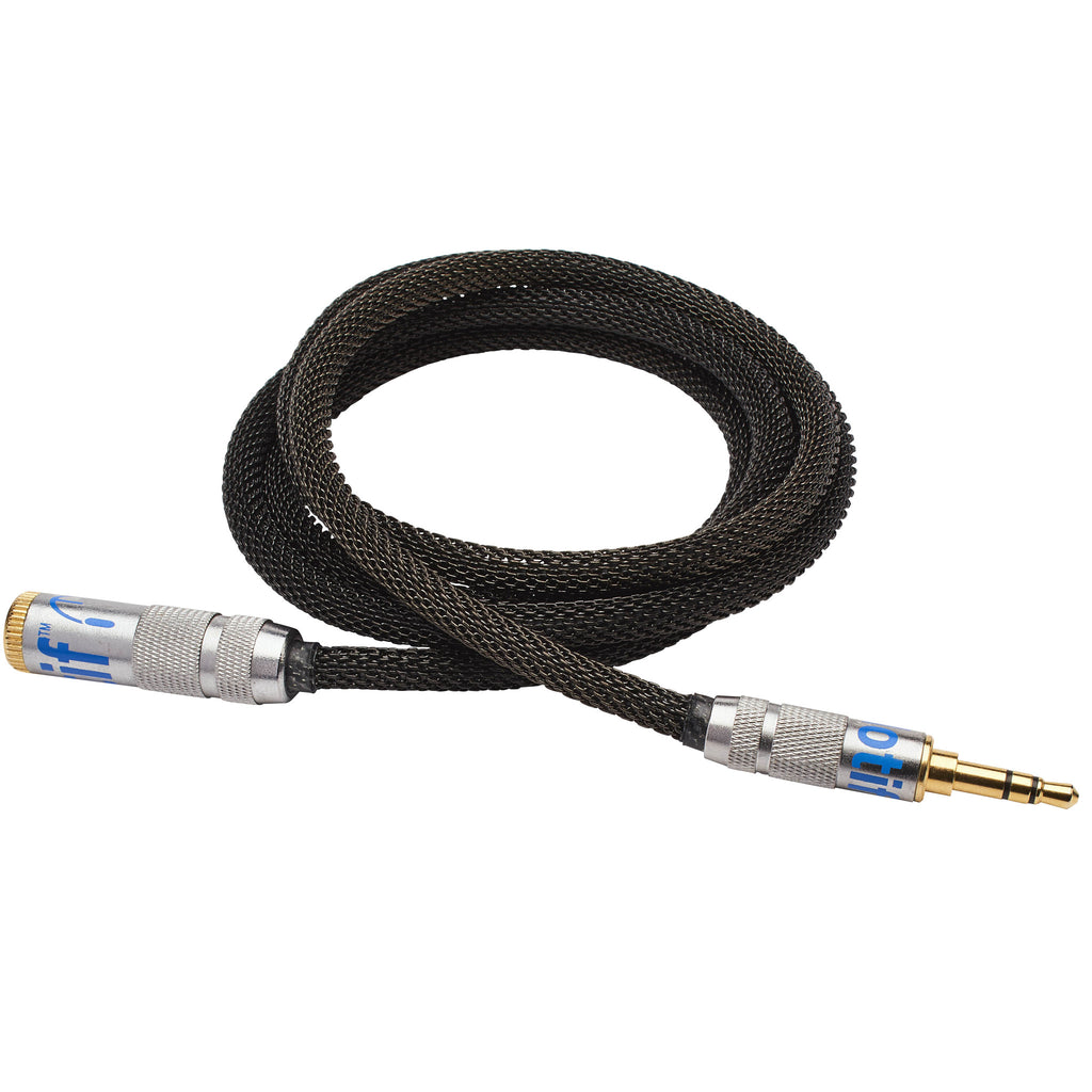 Black Audio Extender Cable