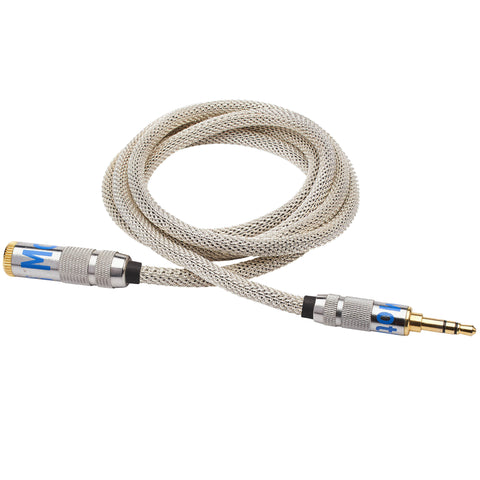 Silver Audio Extender Cable