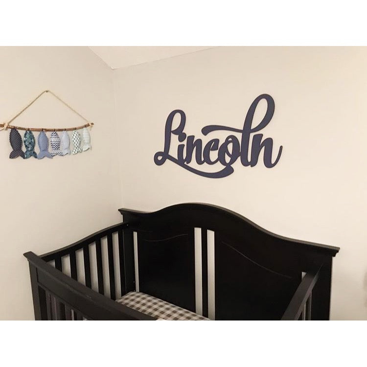 Customer Photos of Baby Name Signs