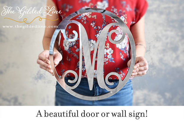 Mirror Letter Door or Wall Hanging - thebestcaketoppers