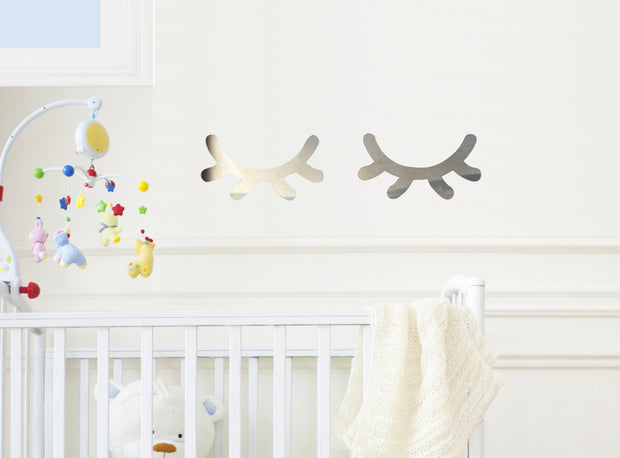 Sleepy Eye Mirrors for Baby or Child Room Decor - thebestcaketoppers