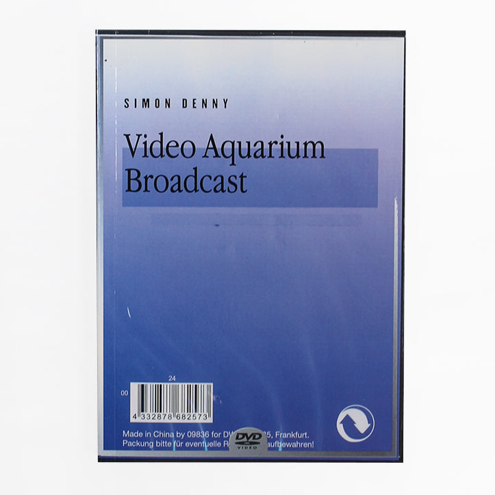Simon Denny: Video Aquarium Broadcast