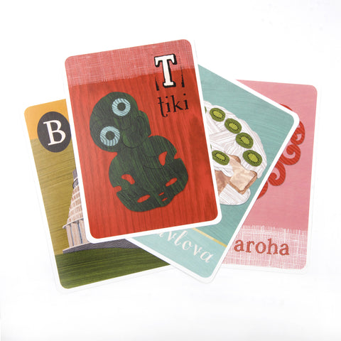 ABC Frieze Cards