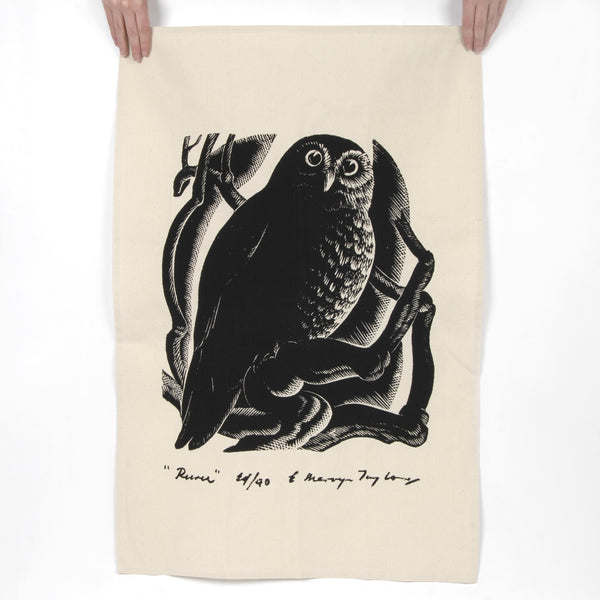 Owl Tea Towel - Auckland Art Gallery Shop