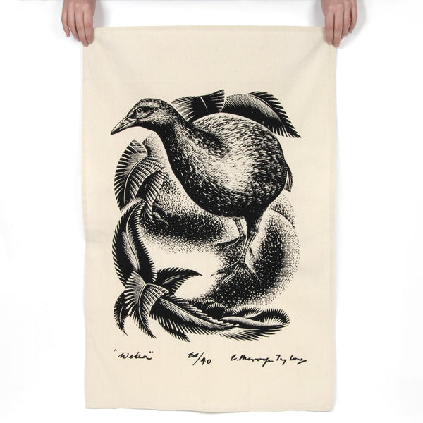 Weka Tea Towel - Auckland Art Gallery Shop