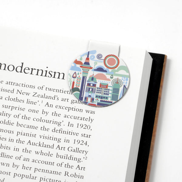 Auckland Art Scape Magnetic Bookmark