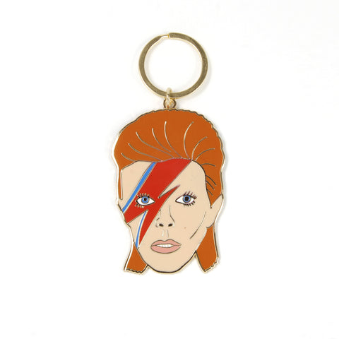 David Bowie Keyring - Auckland Art Gallery Shop