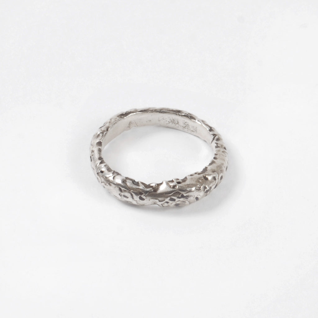 Silver Organic Stacking Ring - Auckland Art Gallery Shop