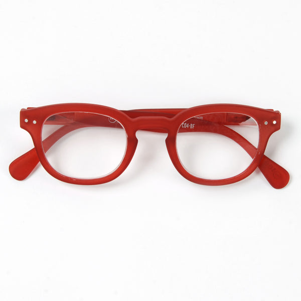Red Reading Glasses Style C