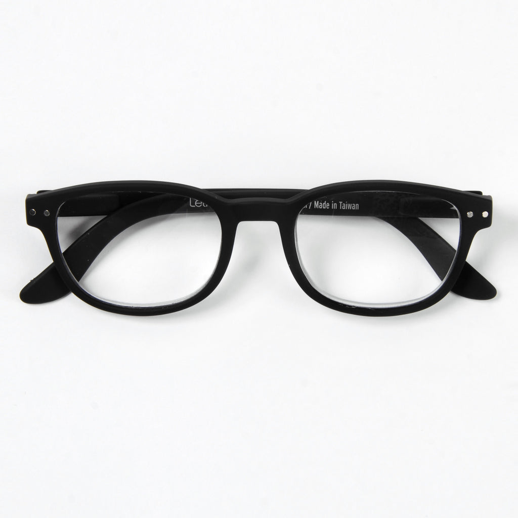 Black Reading Glasses Style B