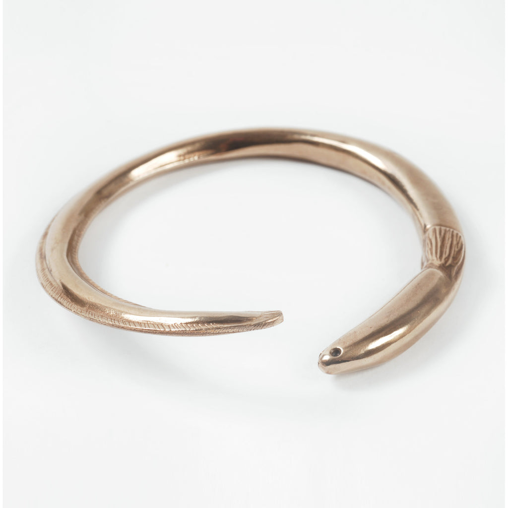 Bronze Tuna Eel Bracelet - Auckland Art Gallery Shop