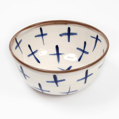 Large Cross Bowl - Auckland Art Gallery Shop