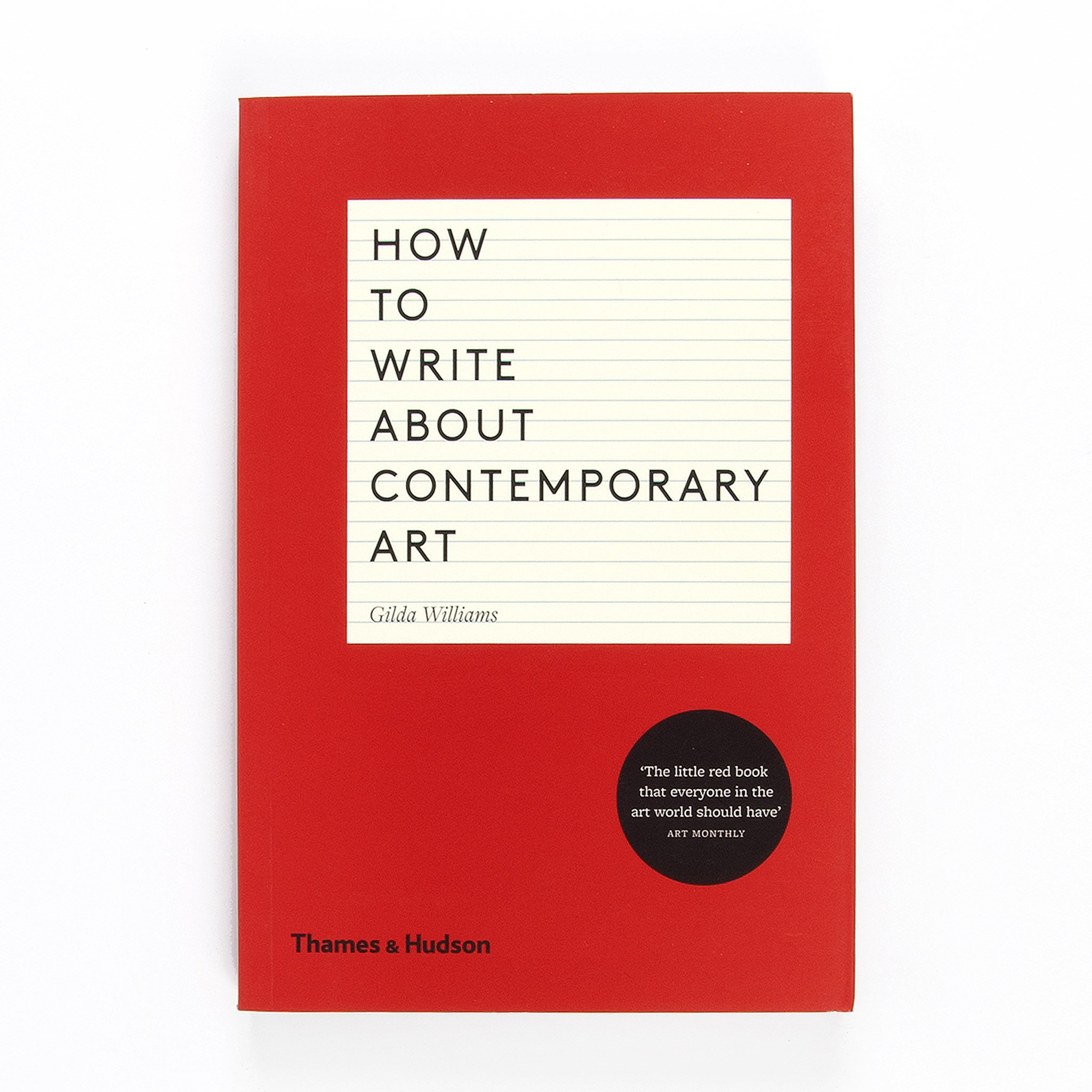How to Write About Contemporary Art Image
